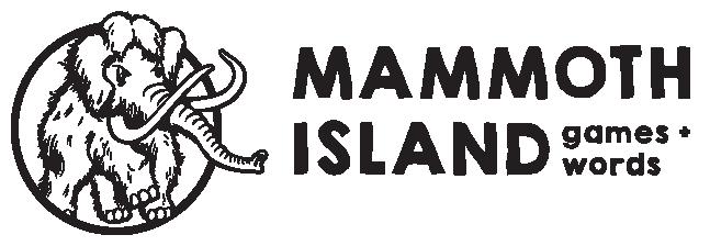 the mammoth island games logo