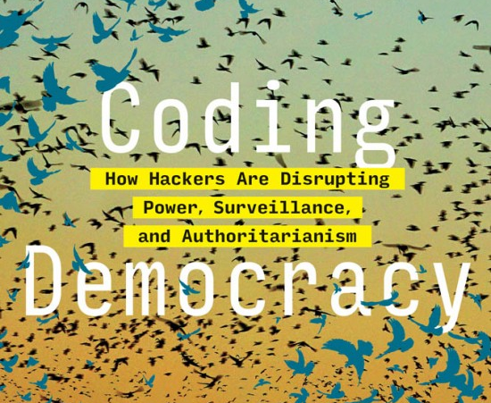"""a cropped cover image for the book """"coding demoracy"""""""